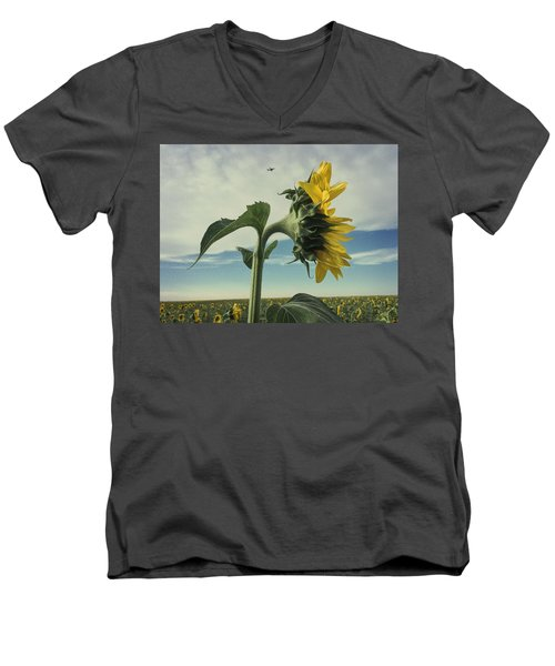 Standing Tall Men's V-Neck T-Shirt