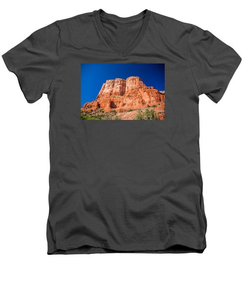 Standing Tall Men's V-Neck T-Shirt
