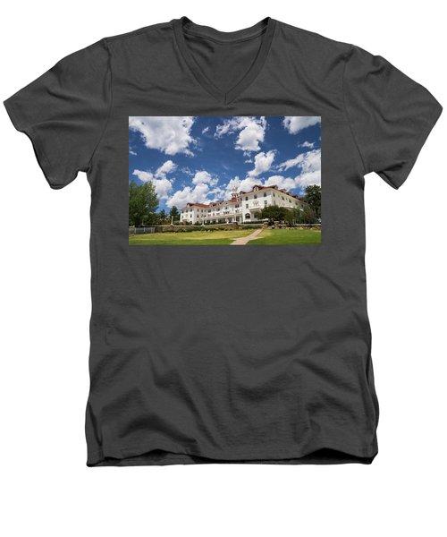 Stanley Hotel Men's V-Neck T-Shirt