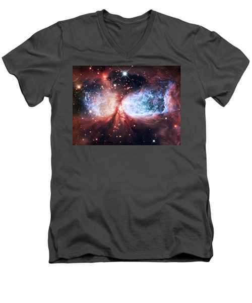Star Gazer Men's V-Neck T-Shirt by Jennifer Rondinelli Reilly - Fine Art Photography