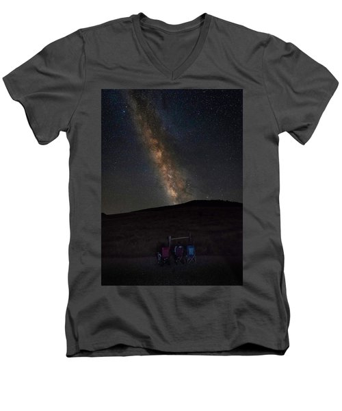 Star Gazing Men's V-Neck T-Shirt