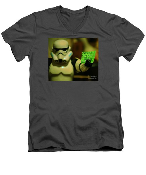 Star Wars Vii Debut, Hawaii Men's V-Neck T-Shirt by Craig Wood