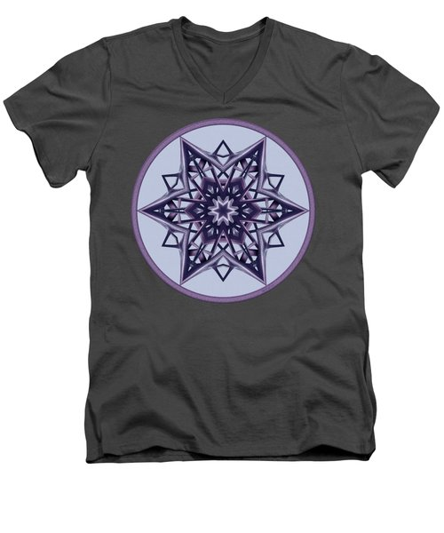 Star Window II Men's V-Neck T-Shirt