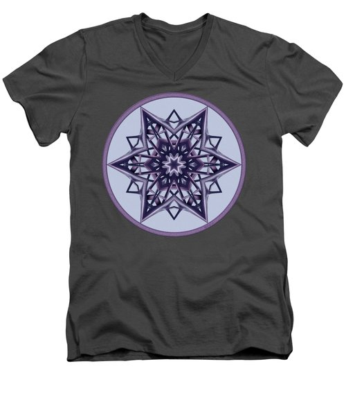 Star Window II Men's V-Neck T-Shirt