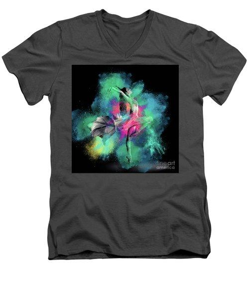 Stardust Dancer Men's V-Neck T-Shirt
