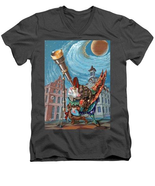 Stargazer Men's V-Neck T-Shirt