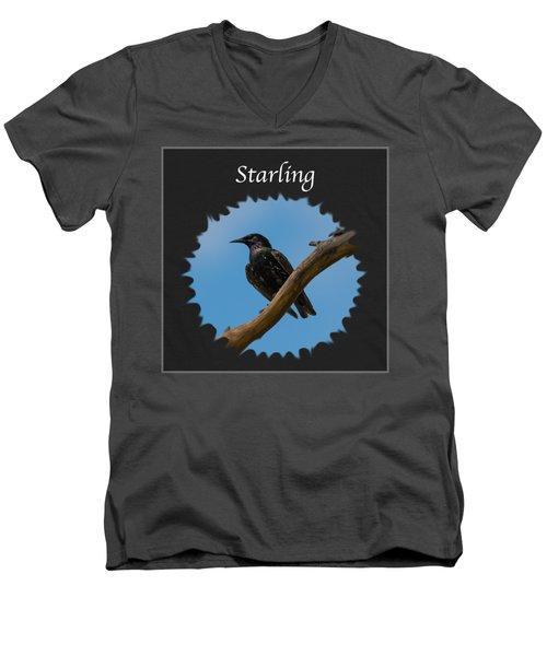 Starling   Men's V-Neck T-Shirt