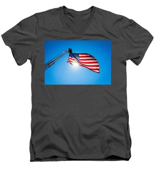 Stars And Stripes Forever Men's V-Neck T-Shirt