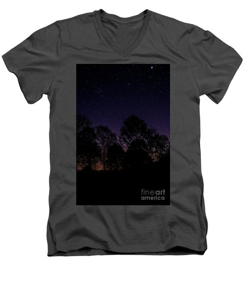 Men's V-Neck T-Shirt featuring the photograph Stars by Brian Jones