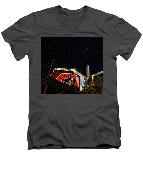 Stars Over Gila Cottage Men's V-Neck T-Shirt