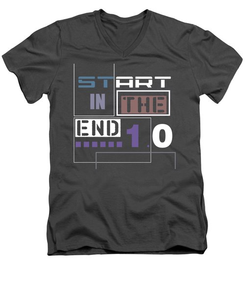 Start In The End Men's V-Neck T-Shirt