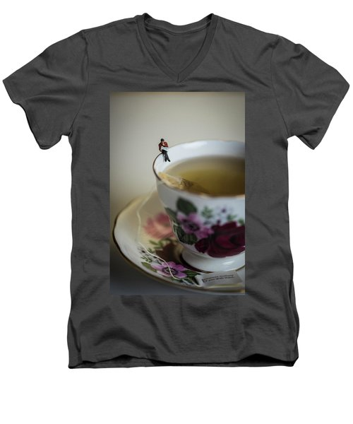 Start Of The Day Men's V-Neck T-Shirt
