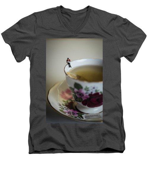 Start Of The Day Men's V-Neck T-Shirt