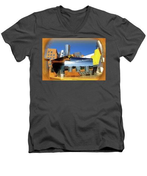 Stata At Mit Men's V-Neck T-Shirt