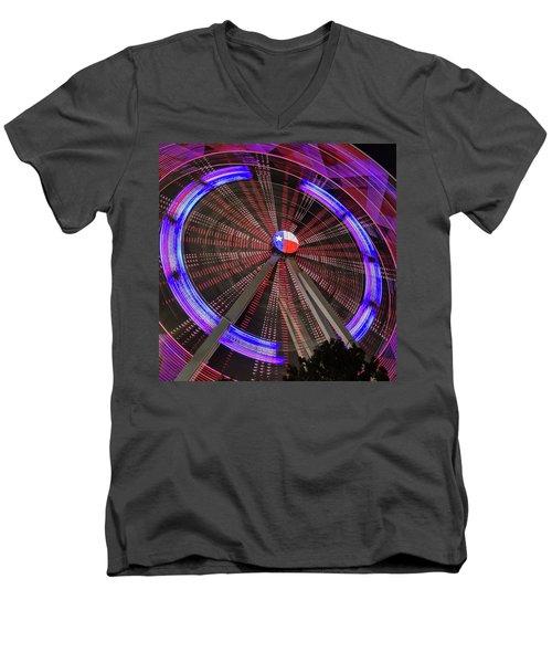 State Fair Of Texas Ferris Wheel Men's V-Neck T-Shirt