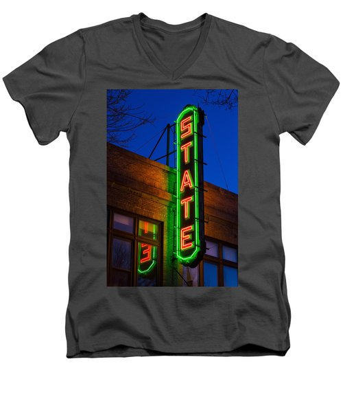 State Theatre - Ithaca Men's V-Neck T-Shirt