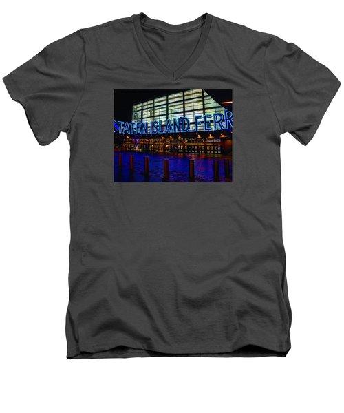 Staten Island Ferry 236 Men's V-Neck T-Shirt