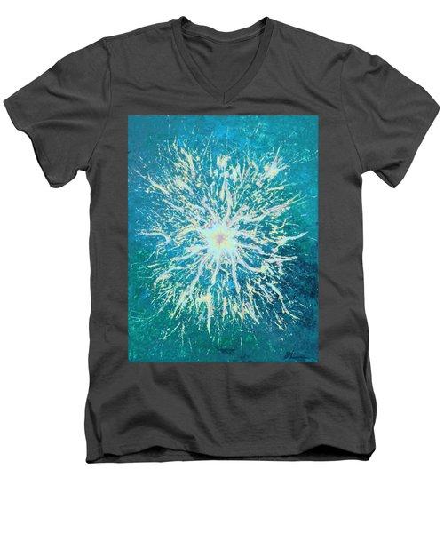 Static Men's V-Neck T-Shirt