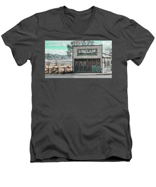 Station Men's V-Neck T-Shirt