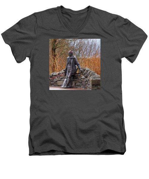 Statue Of Tom Weir Men's V-Neck T-Shirt