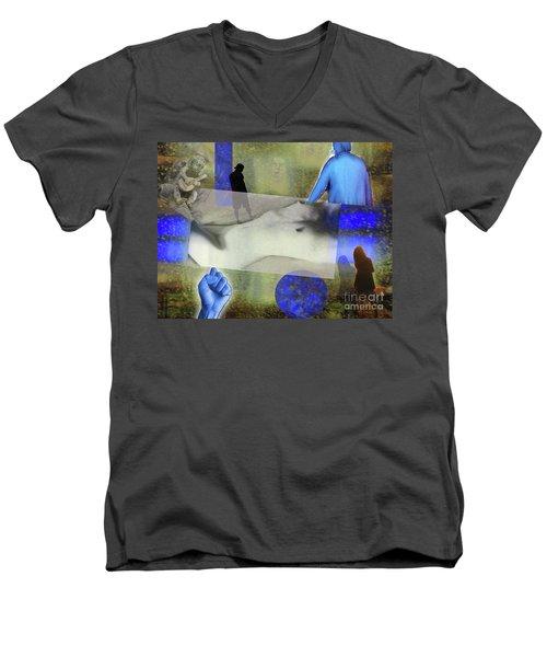 Stay Strong Men's V-Neck T-Shirt