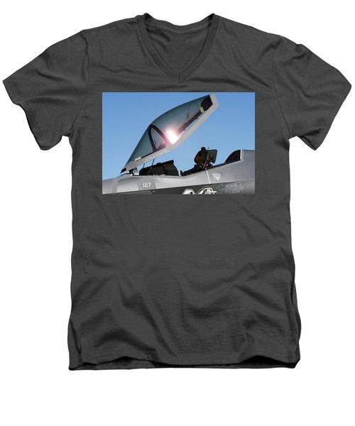 Stealth Office Men's V-Neck T-Shirt