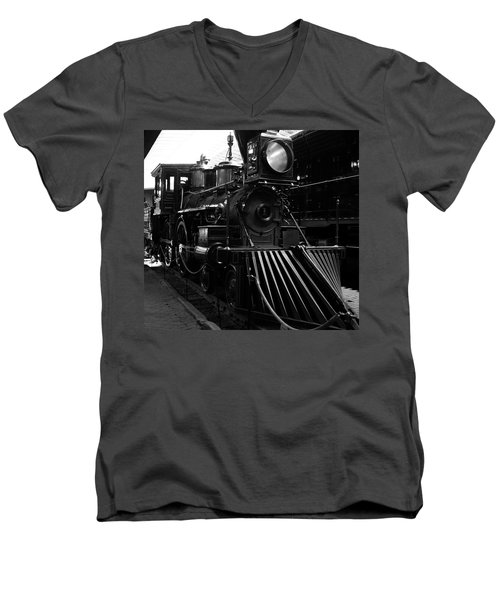 Choo-choo Men's V-Neck T-Shirt