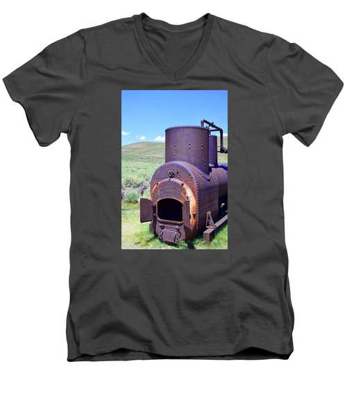Steam Generator Men's V-Neck T-Shirt