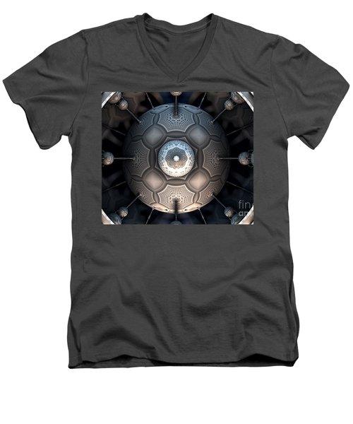 Steamball Interior Shot Plate 1a Men's V-Neck T-Shirt