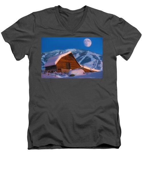 Steamboat Dreams Men's V-Neck T-Shirt