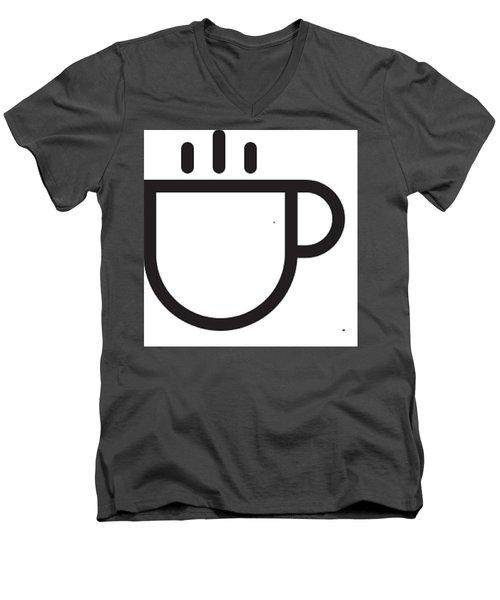 Steamed Men's V-Neck T-Shirt by Now