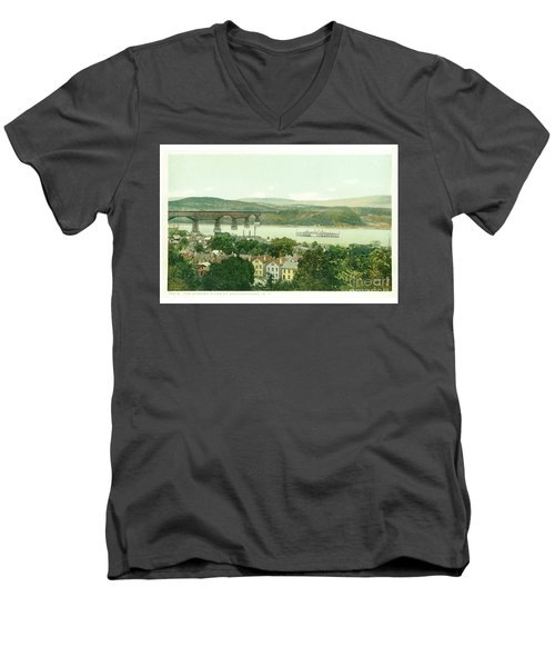 Steamers Waterfront And Ferrys - 07 Men's V-Neck T-Shirt