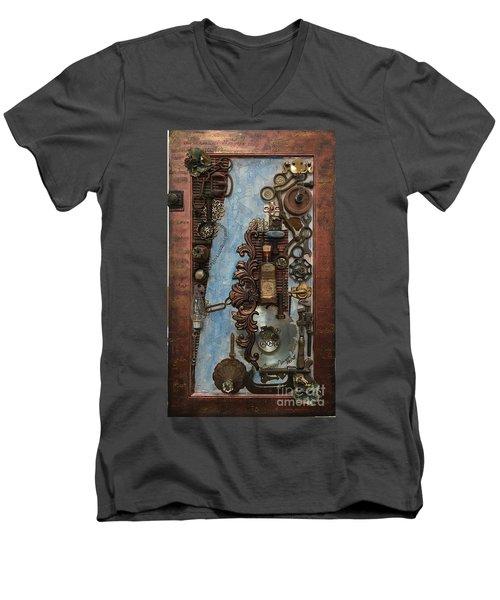 Steampunk 1 Men's V-Neck T-Shirt