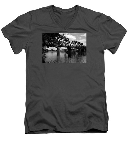 Steel City Men's V-Neck T-Shirt