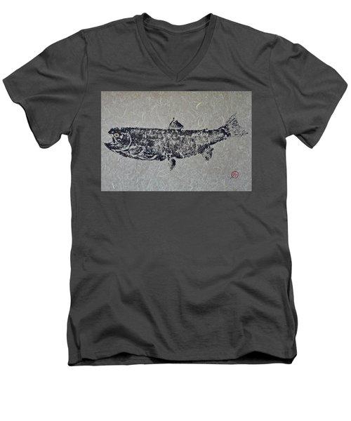 Steelhead Salmon - Smoked Salmon Men's V-Neck T-Shirt