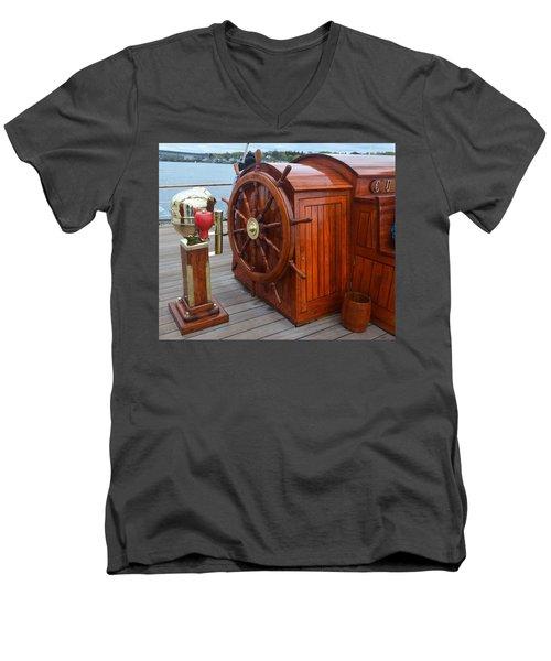 Steer This Men's V-Neck T-Shirt