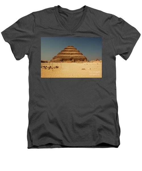 Step Pyramid 2 Men's V-Neck T-Shirt