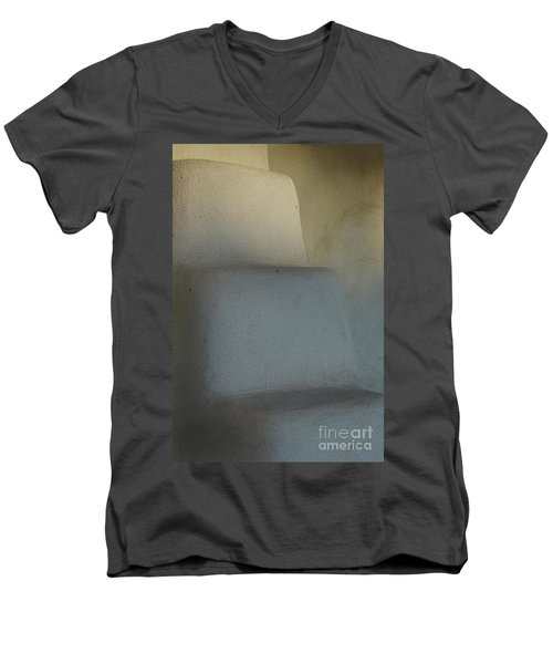 Men's V-Neck T-Shirt featuring the photograph Step Up by Vicki Pelham