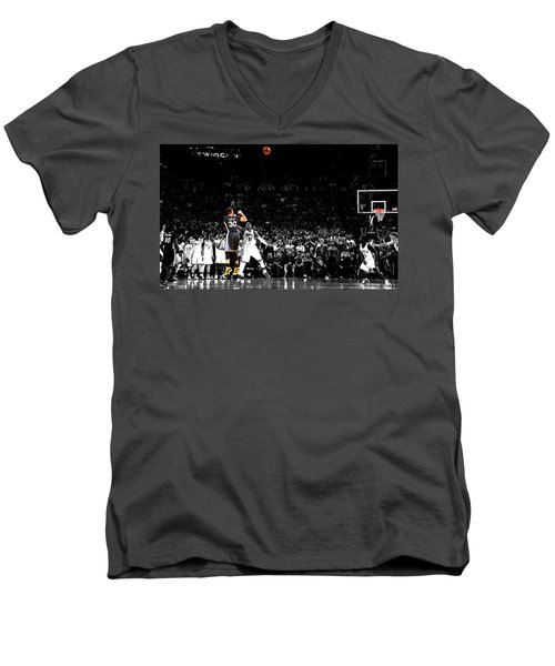 Steph Curry Its Good Men's V-Neck T-Shirt by Brian Reaves