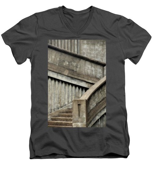 Steps Two Men's V-Neck T-Shirt by Newel Hunter