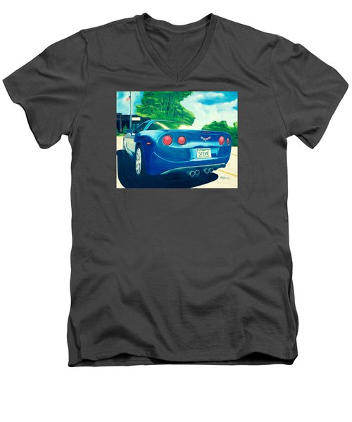Steve's Corvette Men's V-Neck T-Shirt