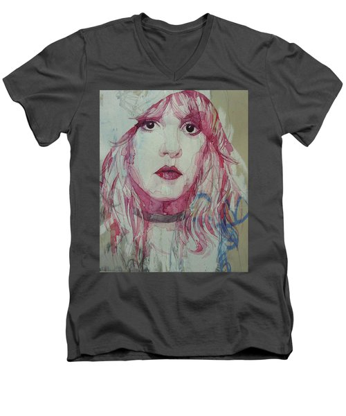 Stevie Nicks - Gypsy  Men's V-Neck T-Shirt