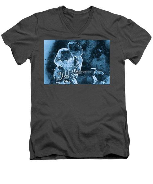 Stevie Ray Vaughan - 12 Men's V-Neck T-Shirt