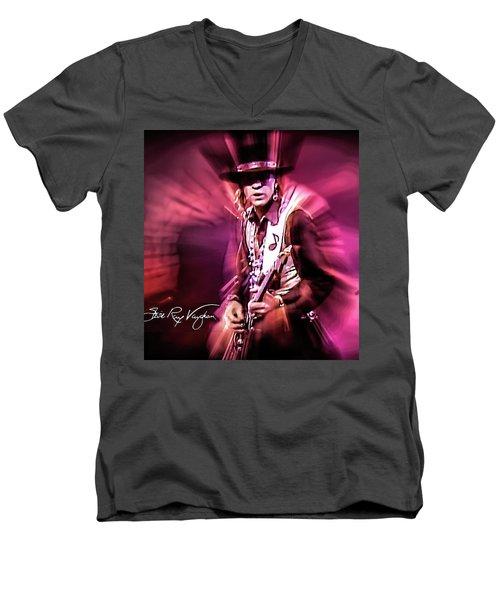 Stevie Ray Vaughan - Crossfire Men's V-Neck T-Shirt
