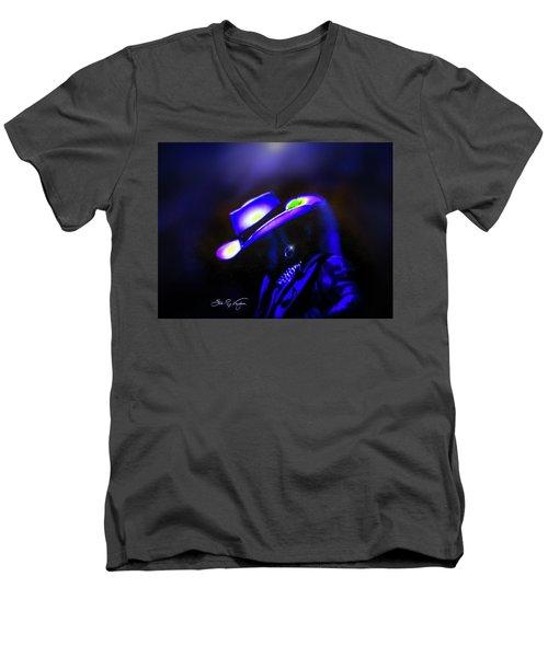 Stevie Ray Vaughan -  Superstition  Men's V-Neck T-Shirt