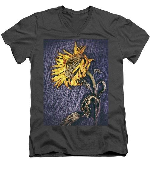 Men's V-Neck T-Shirt featuring the photograph Still Beautiful  by Karen Stahlros