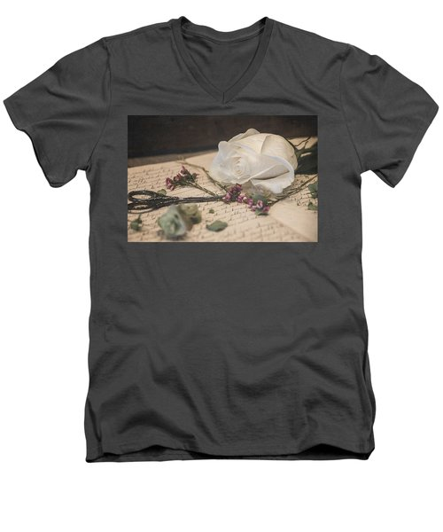 Still Life 8496 Men's V-Neck T-Shirt