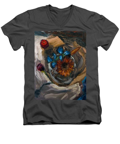 Still Life Abstract Men's V-Neck T-Shirt