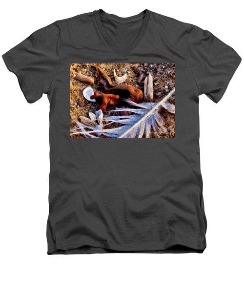 Still Life At Beach 2015 Men's V-Neck T-Shirt