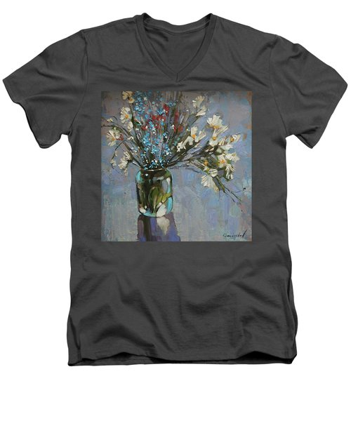 Still Life. Love Does Not Love.... Men's V-Neck T-Shirt